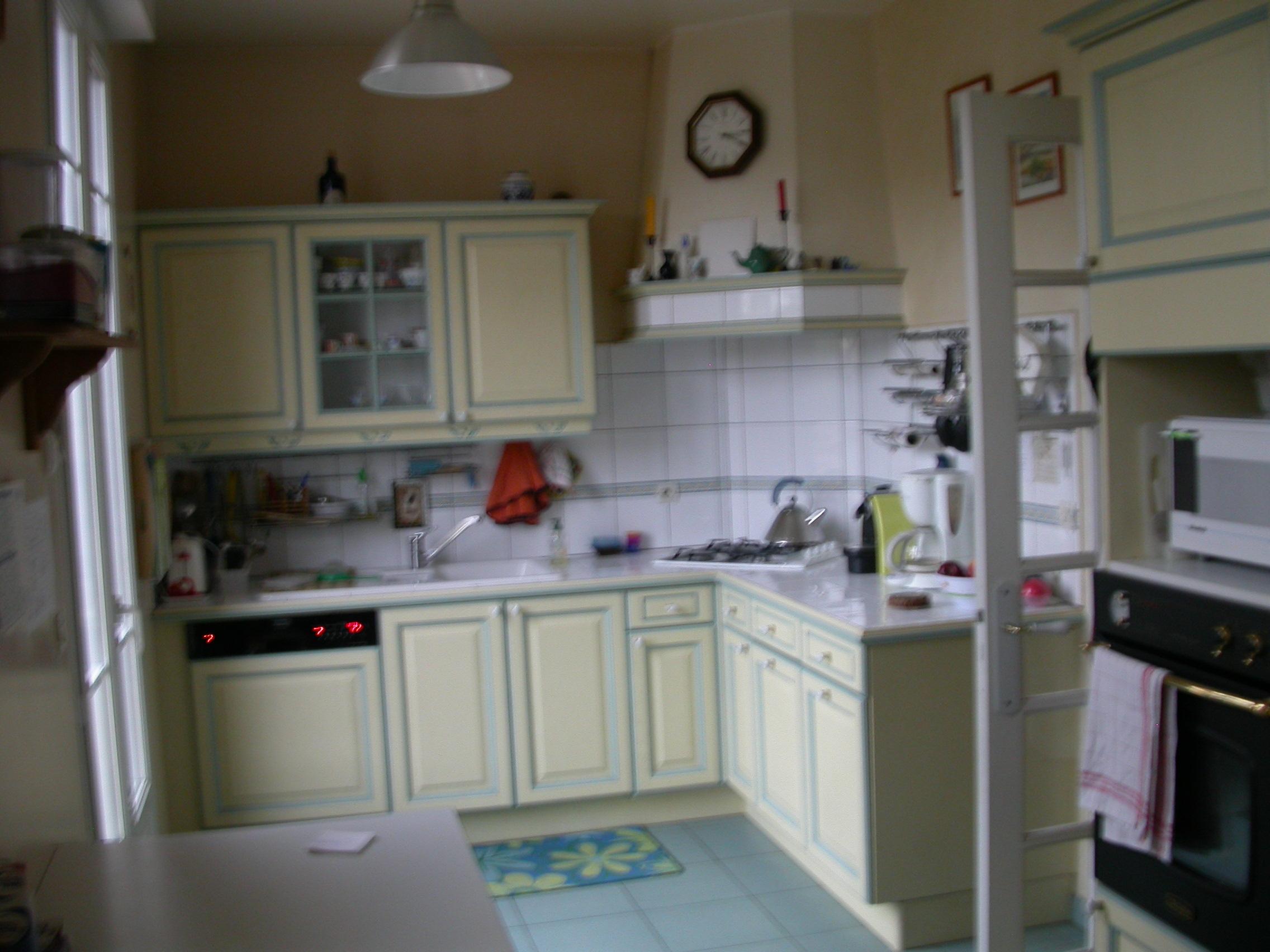 Le relooking de la cuisine p le m le chez l 39 as de tr fle - Cuisine avant apres relooking ...